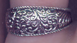 Sterling Scrollwork Ring